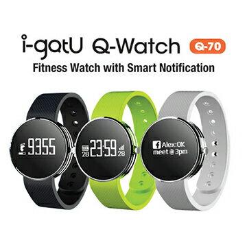 【迪特軍3C】i-gotU Q-Watch 智慧健身手錶 – Q-70 - 限時優惠好康折扣