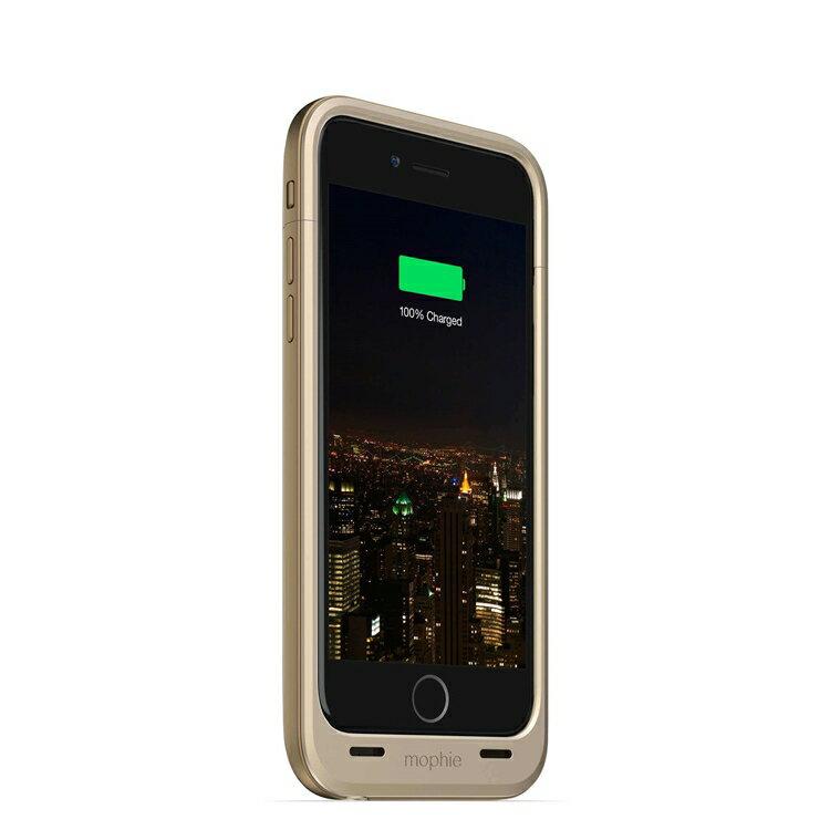 【迪特軍3C】mophie Juice Pack Plus for iPhone 6/6S 背蓋電源(金) 2