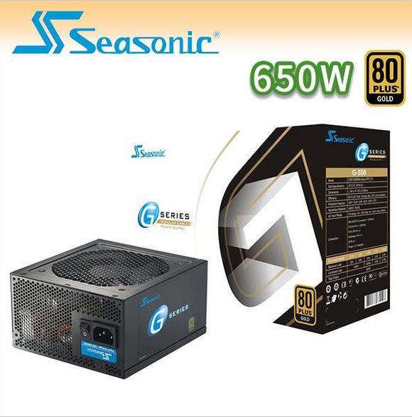 【迪特軍3C】 海韻 Seasonic G-650W 80Plus 電源供應器 - 限時優惠好康折扣