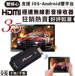 【迪特軍3C】第3.5代 HDMI雙核心極速無線影音接收器 (支援iOS9 / Android4.2 / win8.1 / 平板)