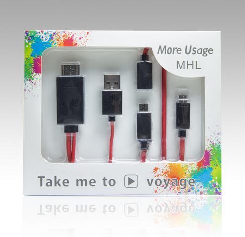 【迪特軍3C】杰強J-Power行動高畫質HDMI電視影音輸出線MHL 3米加長版 - 限時優惠好康折扣