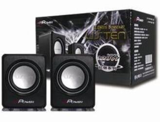 【迪特軍3C】 J-POWER 杰強 JP-USP-06 LED USB 喇叭 黑/白 限量