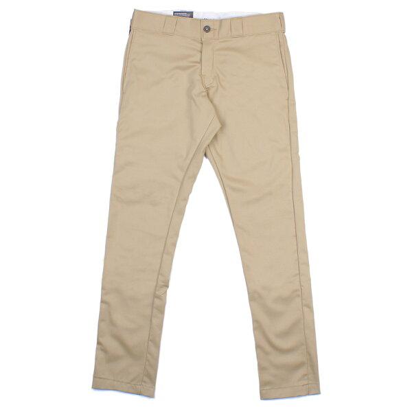 【EST】美版 DICKIES WP810 SLIM FIT WORK PANTS 窄版 工作褲 [DK-5006-537] 卡其 W28~36 F0108
