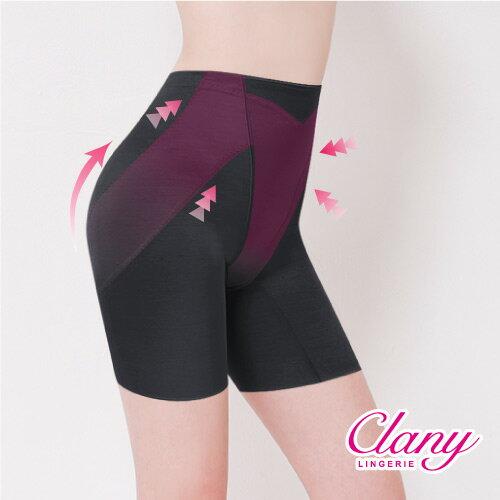 【可蘭霓Clany】高腰素面無痕M-2XL提臀褲  神秘黑 1906-63 0