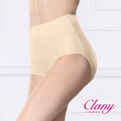 【可蘭霓Clany】保養絲蛋白L-XL蜜桃褲 初暮黃 2170-71 1