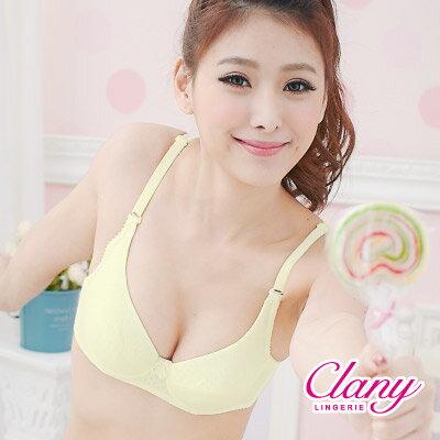 【可蘭霓Clany】童話小熊軟鋼ABC內衣 初暮黃 6202-71 0
