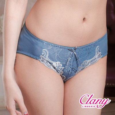 【可蘭霓Clany】浪漫古典三角M-XL內褲 迷漾藍 5236-51 0