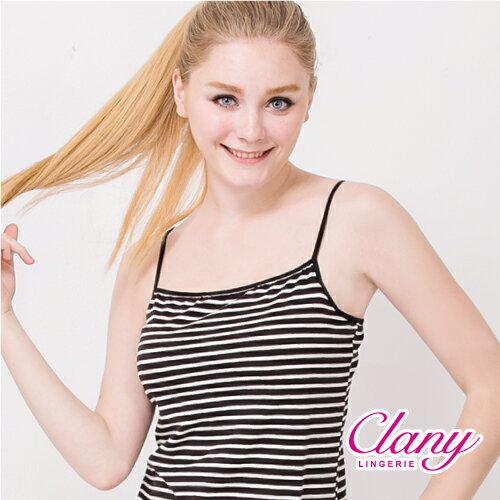【可蘭霓Clany】涼感Bra-Top M-XL細肩背心 高貴紫 6388-92 2