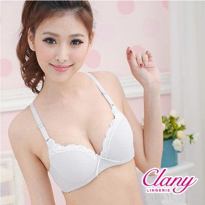 【可蘭霓Clany】可愛蕾絲涼感BC內衣 低調灰 6615-61 0