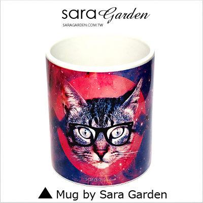 (24H) 客製 質感 彩繪 馬克杯 Mug 銀河 圖騰 貓咪 咖啡杯 陶瓷杯 杯子 Sara Garden 品牌手作【M0320007】