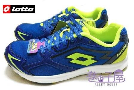 【巷子屋】義大利第一品牌-LOTTO樂得 RUNNING 男款疾風路跑鞋 [2226] 藍 超值價$690