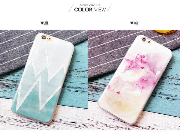 ☆BOY-2☆【N4055】文青水彩手機殼 iPhone6 6plus 2