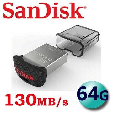 【 儲存家3C 】SanDisk 64GB CZ43 Ultra Fit USB 3.0 高速隨身碟