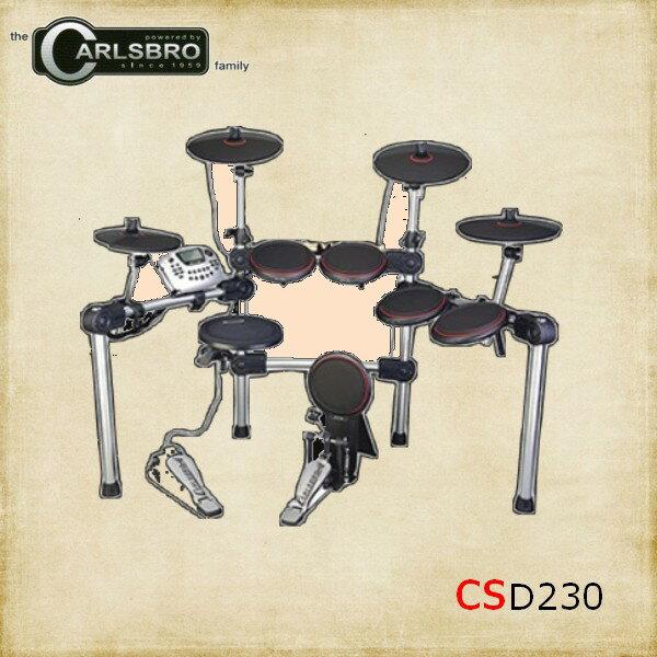 【非凡樂器】CARLSBRO電子鼓 CSD230/原廠公司貨/英國頂尖專業/超值配備組合