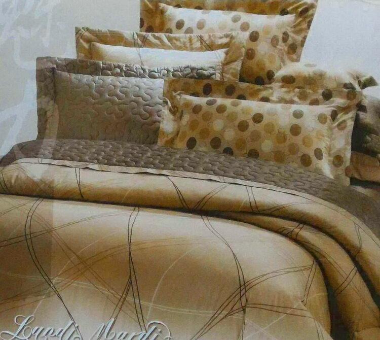 [床工坊]台製高級精梳棉 (單面花色床罩四件組)-無抱枕 2