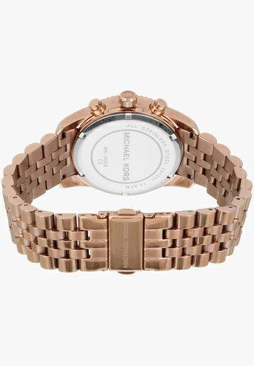 美國Outlet正品代購 MichaelKors MK  男女中性玫瑰金鋼帶錶 手錶 MK5569 4