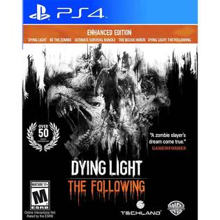 PS4 垂死之光 強化版 英文美版 Dying Light: The Following Enhanced