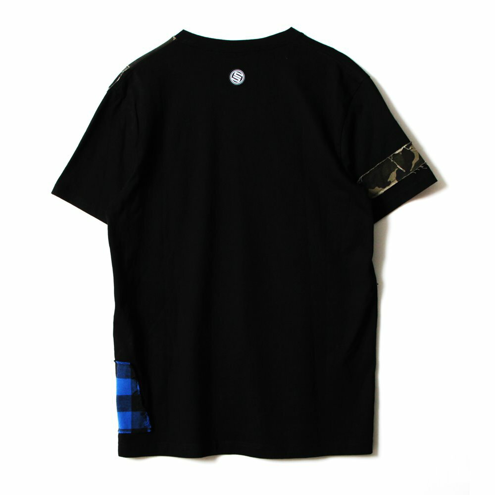 STAGE  REMAKER SS TEE 黑色/紅色  兩色 6