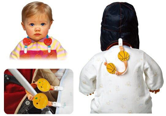 『121婦嬰用品館』拉孚兒 可愛圍兜夾 - 蘑菇 1