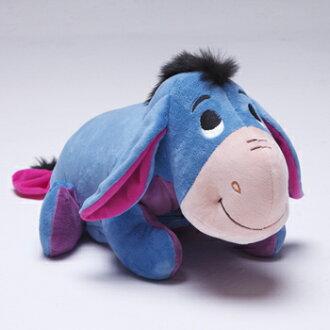 【禾宜精品】迪士尼 小驢屹耳 多功能玩偶毯 玩偶 毛毯 枕頭 Zoobies Disney Eeyore  YZB114