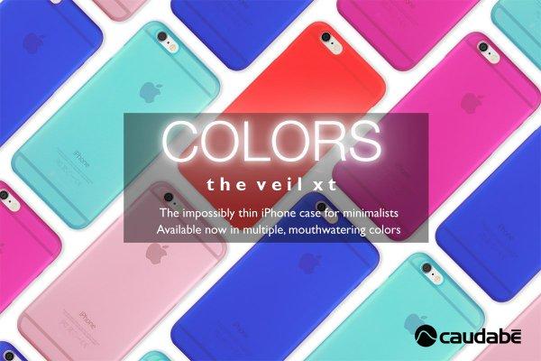 【愛瘋潮】Caudabe The Veil XT 0.35mm 超薄滿版極簡手機殼 for iPhone 6 / 6S