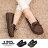 格子舖*【AW2313】MIT台灣製 簡約蝴蝶結 車線設計仿牛巴皮革 柔軟舒適 平底包鞋 懶人鞋 3色 0