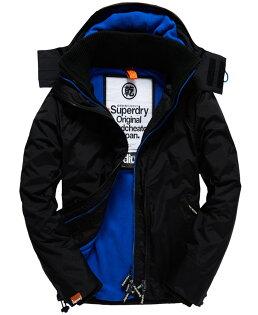 [男款] 英國代購 極度乾燥 Superdry Arctic 男士風衣戶外休閒 外套夾克 防水 防風 保暖 黑色/寶藍