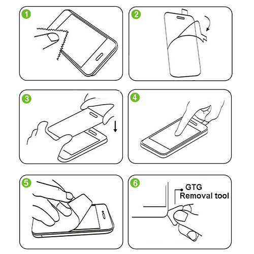 Protector Pantalla Cristal Vidrio Templado Sony Xperia Z5 Compact mas kit instalacion 1