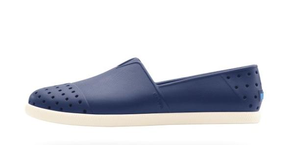 NATIVE  SHOES - Verona水手鞋 - REGATTA BLU/BONE WHT (4200)