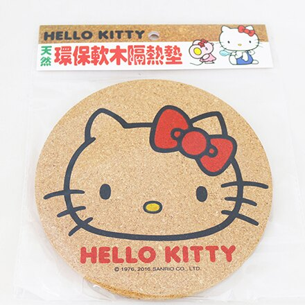 [敵富朗超市]HELLO KITTY軟木隔熱墊 - 限時優惠好康折扣