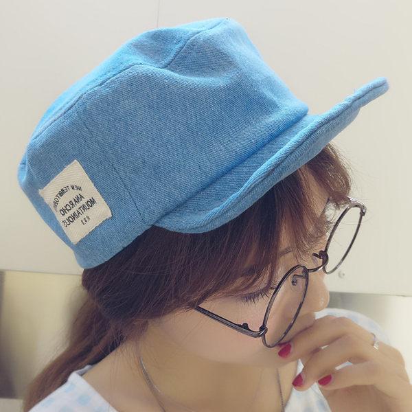 遮陽帽 棒球帽 潮帽【C1085】棒球帽-平頂可折疊側邊小標軟帽 艾咪E舖 休閒帽 男女皆可 2