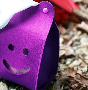 ├登山樂┤Ridge Line 彩色微笑面紙盒 - 紫色 #OT867277VI