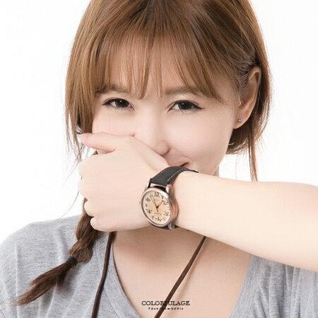 手錶 獨特中國時辰刻度造型手錶 情侶對錶 超強注目中性錶款 柒彩年代【NE1028】單支價格 0