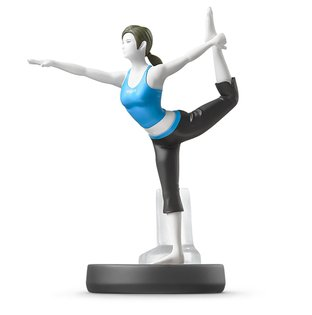 Amiibo wii fit  瑜珈 運動 互動 Wii U/New3DS/New3DS LL 公仔