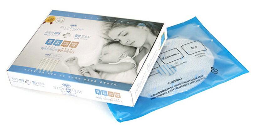 韓國【Jelly Pillow】涼感初生嬰兒枕(叢林象) 1