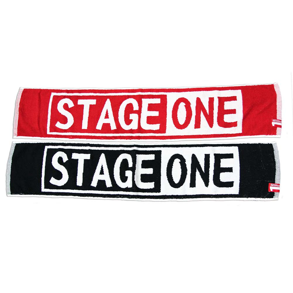 STAGEONE TALENT BOX TOWEL 黑白色 / 紅白色 兩色 1