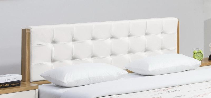 亞倫傢俱*安摩爾6尺雙人床架 (床頭片款) 1