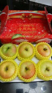 【嘉慶嚴選】日本進口青森拓季トキ(Toki)蘋果 6顆禮盒裝(32顆原裝箱等級)  特惠價700元