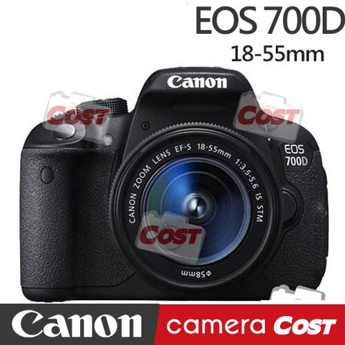 【送32G副電原廠包快門線背帶豪華禮】Canon EOS 700D 18-55 公司貨 - 限時優惠好康折扣