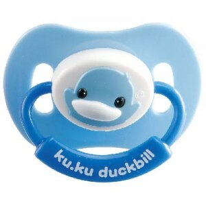 『121婦嬰用品館』KUKU 造型安撫奶嘴 - 初生拇指型 0