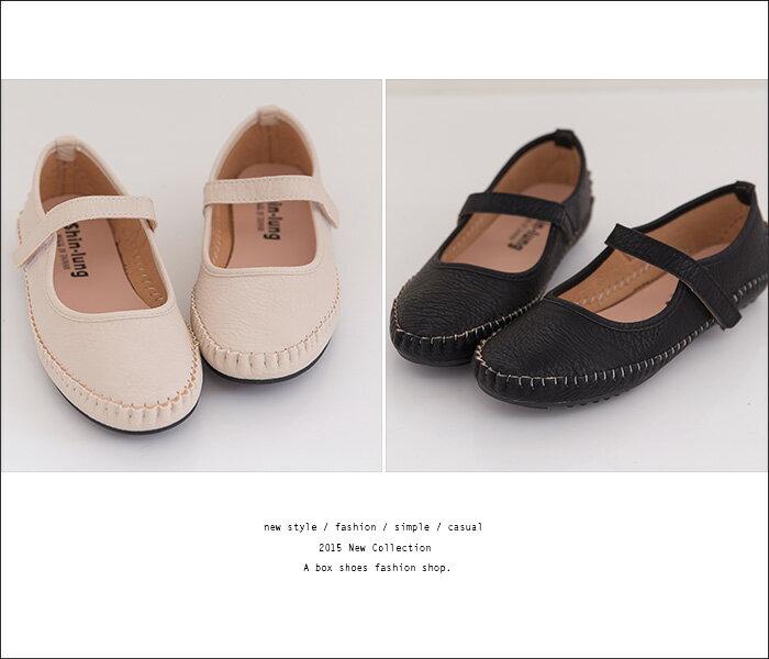 格子舖*【AIDN816】MIT台灣製 甜美嚴選淑女款 舒適接縫線豆豆底 止滑圓頭平底包鞋 3色 2