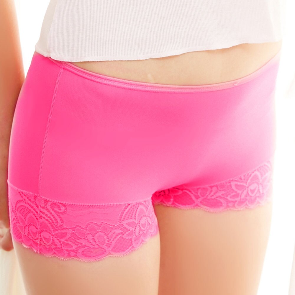 【AJM】MIT輕柔舒適竹炭中腰平口褲(玫瑰粉) 0