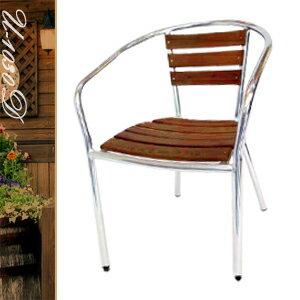鋁柚木椅(休閒木椅子.造型椅.咖啡椅.戶外椅.麻將椅.餐廳椅.庭園椅.傢俱家具傢具特賣會)