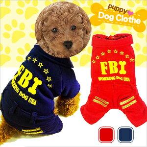 FBI圖案抓毛保暖寵物裝^(寵物服.寵物衣.寵物衣服寵物服裝.小狗衣服貓衣服.寵物用品.