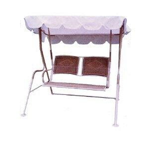 藤搖椅.庭院家具