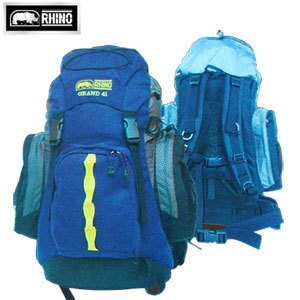 【RHINO 犀牛】Grand 41L超輕透氣網架背包(附可拆式防雨罩)露營用品.登山用品.登山包.後背包