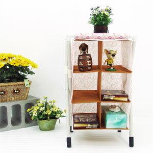六格置物架(置物櫃.不織布收納架子.不織布收納櫃子.防塵收納架.便宜)