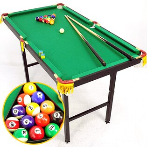120X65折疊型撞球台(內含完整配件)撞球桌.撞球桿.遊戲台.遊戲桌.遊戲機.球類運動用品.推薦