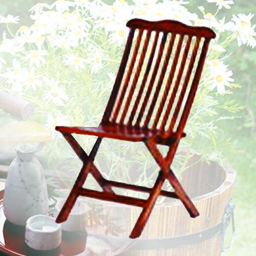 仿柚木折椅.庭院家具.木椅