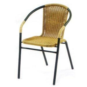 金屬管藤椅系列(二).家具P020-HC-063